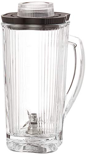 Waring Commercial CAC34 Complete Glass Container with Blade and Lid, 40-Ounce