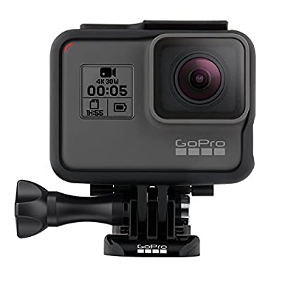 (Renewed) GoPro HERO5 Black Waterproof Digital Action Camera w/ 4K HD Video & 12MP Photo