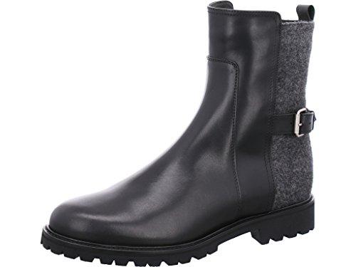 Dirndl & Bua Stiefelette Winter Größe 40.5 EU Schwarz (schwarz-grau)