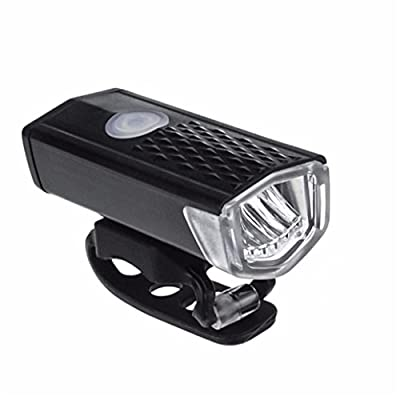 Bicycle Headlight, USB Rechargeable LED Bike Bicycle Cycling Front Light Headlihgt Lamp Torch