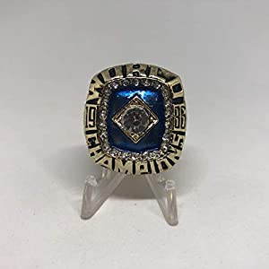 1986 Darryl Strawberry New York Mets World Series High Quality Replica Ring Size 11-Gold Colored