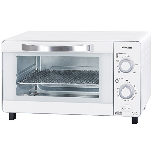 [山善] ノンフライ&トースター コンベクションオーブン カリッとネット付 ホワイト YNA-100(W) [メーカー保証1年]