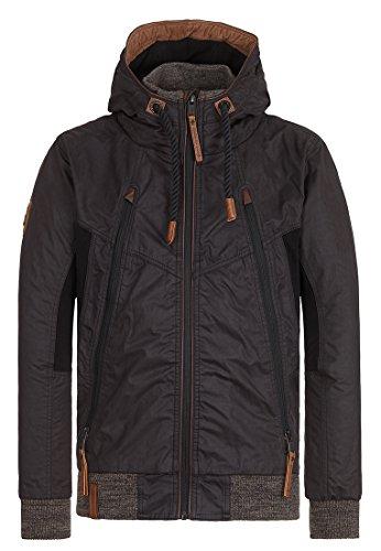 Naketano Male Jacket Mittagsmarder Black, M
