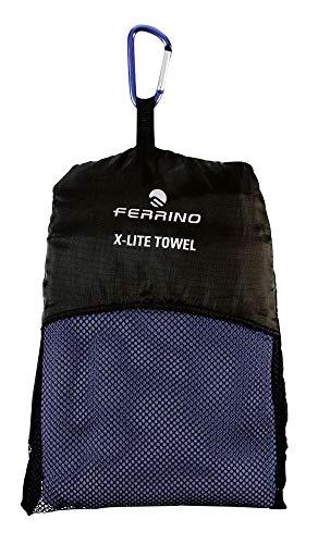 Ferrino X-Lite Towel, Serviette Bleu, M