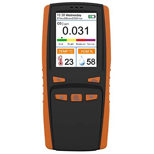 Monland Ozon Analysator O3 Ozon Gas Detektor Intelligenter Sensor Ozonmesser für Tragbare Luft Hand Messungen