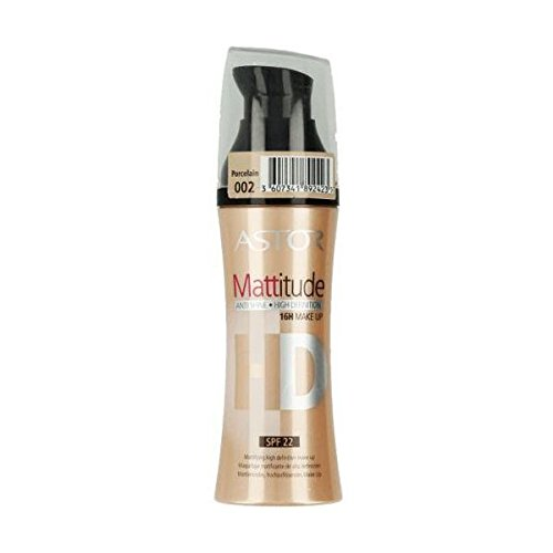 Astor Hd Mattitude 16H Anti Glanz Make Up 002 Porcelain