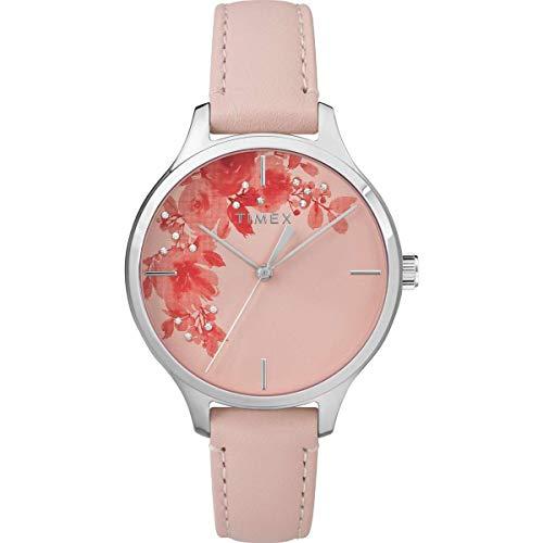 Timex Cristal Bloom 36 mm Bracelet Cuir Watch – Tw2r66600