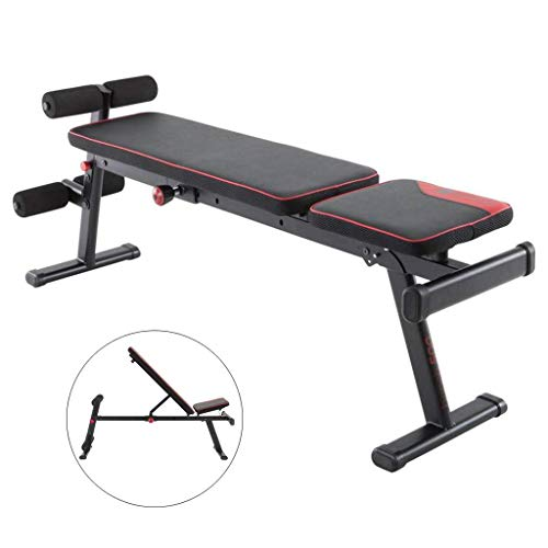 Superb Zhen Guo Adjustable Weight Bench With Leg Extension And High Density Foam Padding Multifunctional Exercise Training Sit Up Bench Flat Incline Short Links Chair Design For Home Short Linksinfo