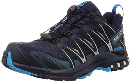 Salomon XA Pro 3D GTX, Zapatillas de Trail Running para Hombre, Azul Marino (Navy Blazer/Hawaiian Ocean/Dawn Blue), 46 EU