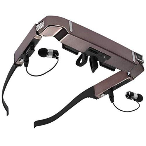 GLASSES Intelligente Brille Android-WiFi 3D 80-Zoll-virtuelle Breitbild-Videobrille-tragbare Private Kamera des Theater 5MP BT4.0