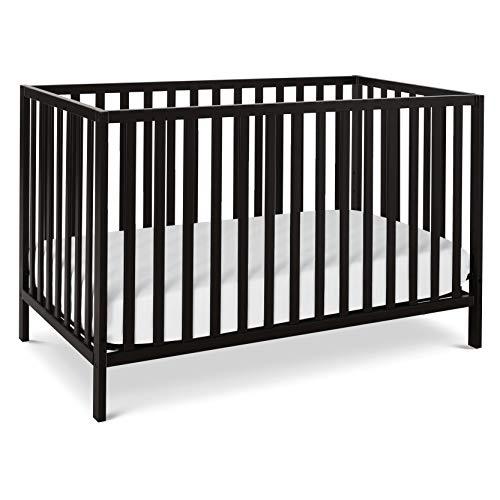 Union 4-in-1 Convertible Crib in Ebony, Greenguard Gold Certified