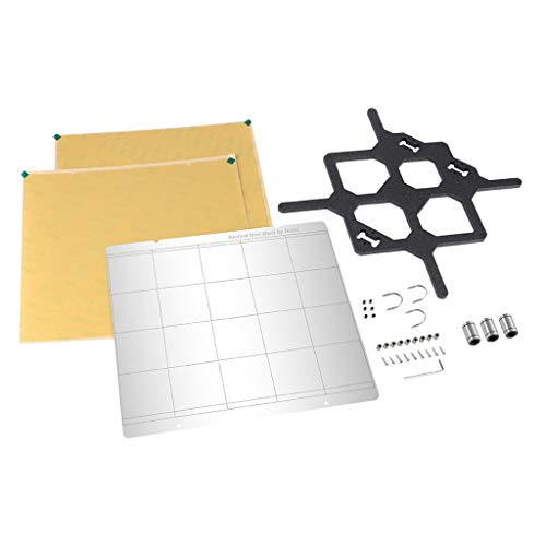 balikha 3D Printer 253.8 X 241 Mm Y- Carrier Plate PEI for Prusa I3 Mk3