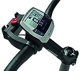 KLICKfix Adaptador de manillar con cerradura para bicis eléctricas, universal 22-26 mm y de 31,8 mm de diámetro.