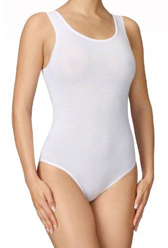 Calida - Body in spalla larga in fine jersey di cotone elasticizzato,...