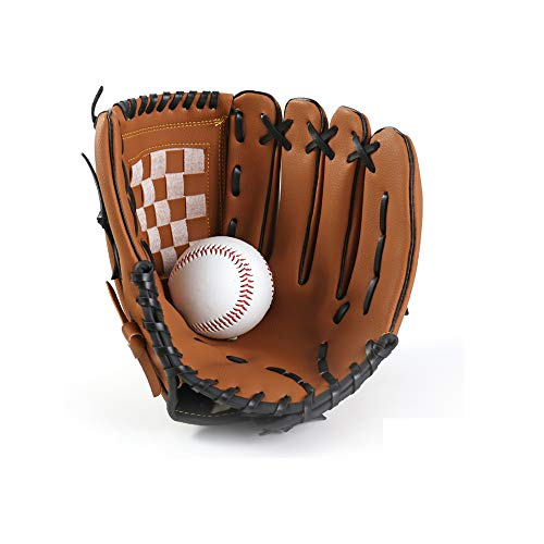 JAOK Baseball Glove with 1 Ball,...