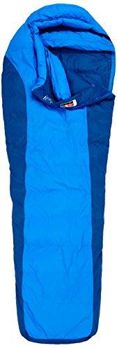 Marmot Herren Sawtooth Schlafsack, Cobalt Blue/Blue Night, Long: 6'6