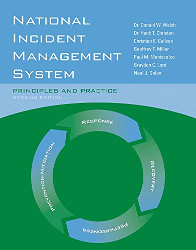 Compare Textbook Prices for National Incident Management System: Principles and Practice: Principles and Practice 2 Edition ISBN 9780763781873 by Walsh, Dr. Donald W.,Christen Jr., Dr. Hank T.,Lord, Graydon C.,Miller, Geoffrey T.