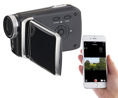 Somikon Videocamera: Full-HD-Camcorder mit 7,6-cm-Touch-Display (3