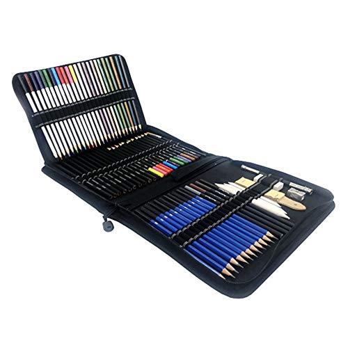 KunLS lapices de Colores ni?os lapices Colores ni?os Adulto para Colorear lápices Lápices de Colorear para Adultos para Colorear lápiz Lápices de Color