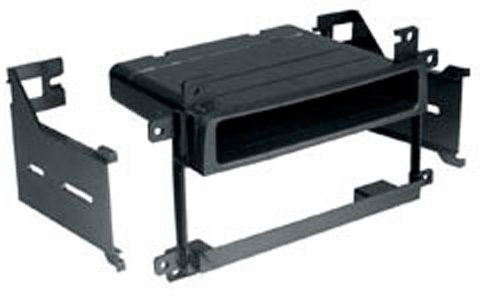 Autoleads FP-33-04 Adaptateur de façade d'autoradio Single DIN pour Suzuki Grand Vitara Noir