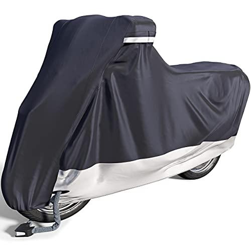 Velmia Telo coprimoto per esterno e interno [Taglia XL] Telo coprimoto impermeabile, per l'inverno, protegge vernice ed è resistente al calore