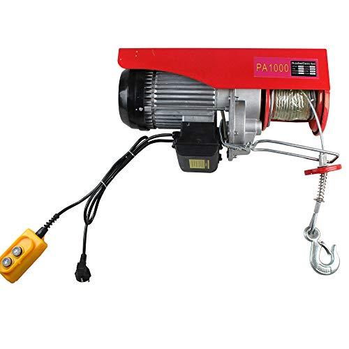 Hansemay - Verricello elettrico, portata 200-1000 kg, verricello elettrico, 1000kg, 1