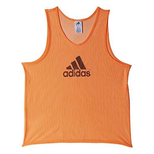 adidas Bekleidung Fußball Trainings Bib 14 Camiseta de Manga Corta, Hombre, Glow Orange, M