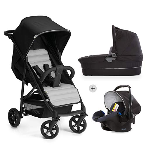 Hauck Rapid 4 Plus Trio Passeggino 3in1 dalla Nascita a 25 kg,...