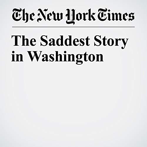 The Saddest Story in Washington copertina