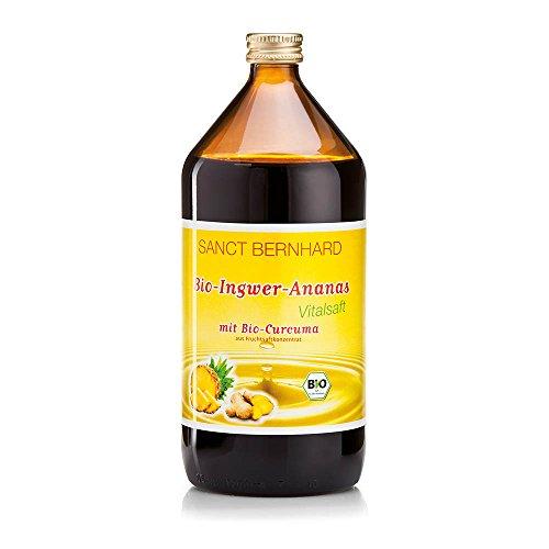 Sanct Bernhard Bio-Ingwer-Ananas Vital-Saft 1 Liter