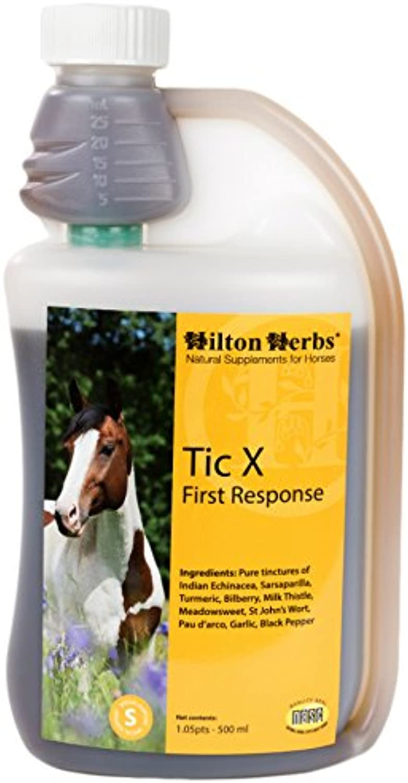 Hilton Herbs 71420 TicX First Response Horse Food, 1.05 Pint