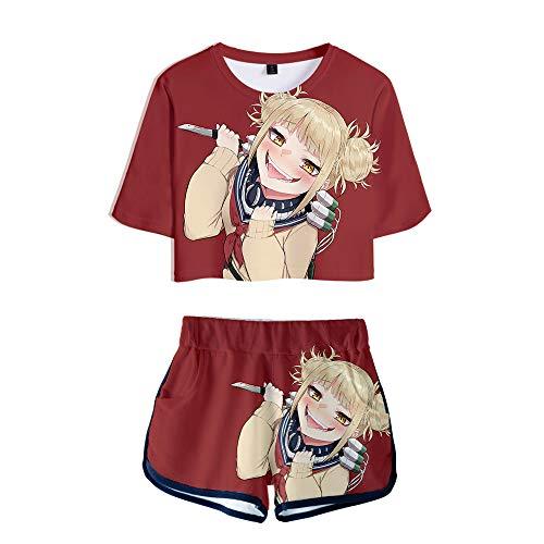 Preisvergleich Produktbild WOONN Shorts und Kurze Ärmel,  Hero Academy Anime-Shorts passen zu Sport,  Freizeit,  Pyjama