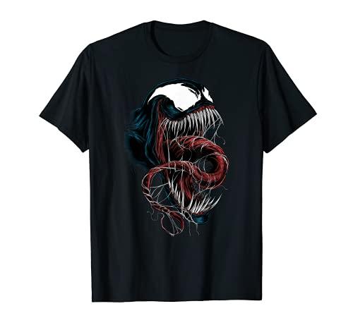Marvel Spider-Man Venom Close-Up Camiseta