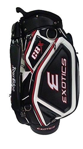 "Tour Edge Exotics CBX Staff Bag (Black/White/Red, 4-way Top 10.5"") Golf"