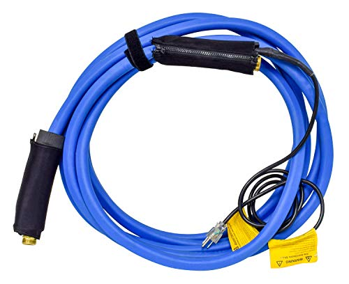 Valterra W01-5325 Heated Fresh Water Hose - 25', Blue