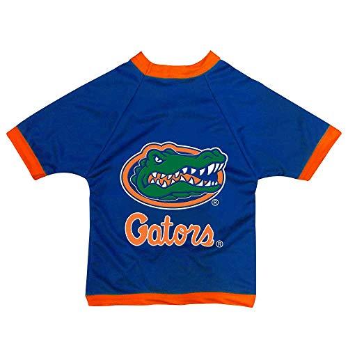 NCAA Florida Gators Athletic Mesh Dog Jersey, Team Color, Large