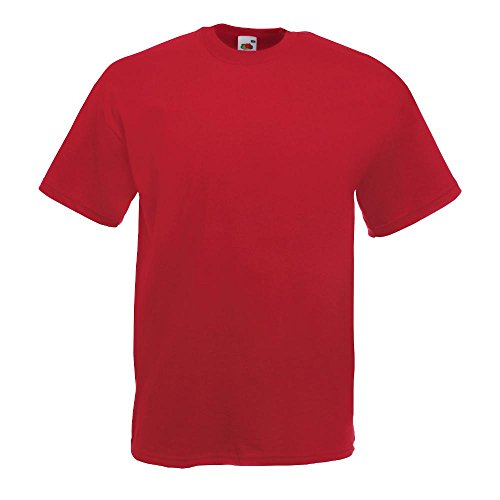 Fruit of the Loom - Classic T-Shirt 'Value Weight' XXL,Brick Red