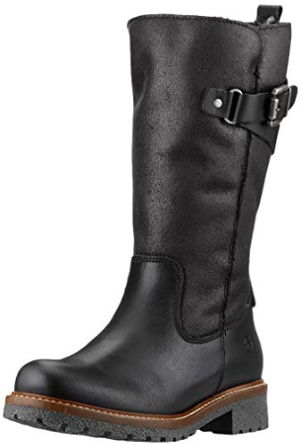Tamaris Damen 1-1-26490-23 Hohe Stiefel, Schwarz (Black Comb 98), 37 EU