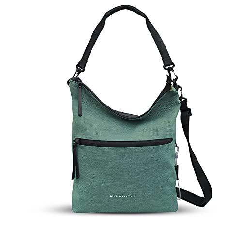 Sherpani Vale, Anti Theft Crossbody Purse, Tote Bag, Travel Shoulder Bag, Fashion Purse Handbag, Crossbody Bags for Women (Teal)