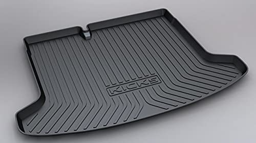 Alfombrilla Para Maletero Coche Para KICKS 2017-2021, Trasera Boot Liner Mat Impermeable Antislip Mat Alfombra De Suelo Mat Antisuciedad