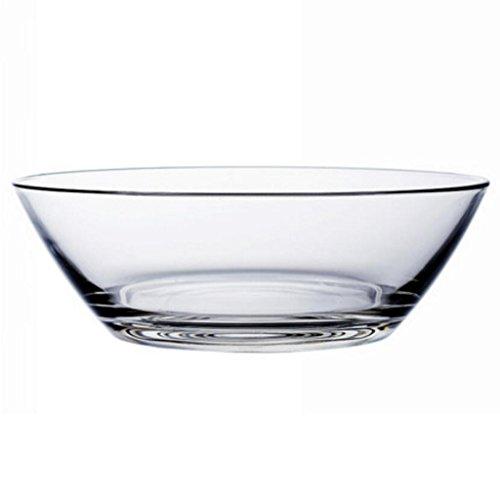 Liuyu Kitchen Home Bol Vert Transparent Bol De Salade Fruit Plat Souper Basin Riz Bol À Micro-ondes Disponible (taille : 25.5cm)