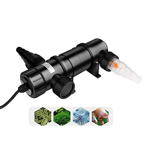 everfarel UVC clarificador esterilizador esterilizador UV Estanque de Siguiente lámpara de (11W)