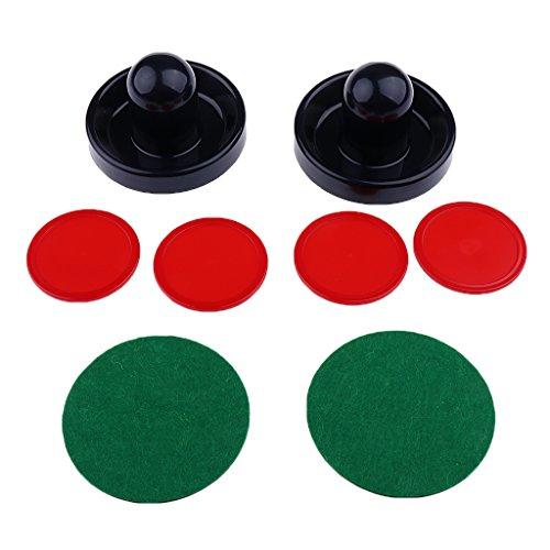 SunniMix Airhockey Pushern/Pucks Perfekte Ersatzteile für Ihr Air Hockey Tischspiel - Dunkelblau, L
