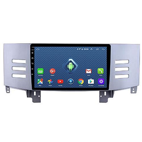 YSSSZ Navegador GPS para Coche, Radio estéreo, DVD para Toyota Reiz 2006-2009, Soporte de navegación satelital con Pantalla táctil de 9 Pulgadas FM/Am/Bluetooth/Map / 4G WiFi,1G+32G