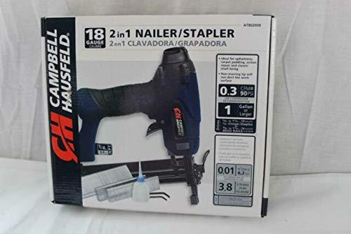 Lowest Price! campbell hausfeld 2 in 1 nailer/stapler