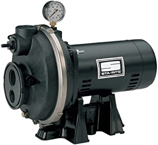 Sta-Rite PLC 1/2 H.P. 1/115-208V, Deep Well Jet Pump with a 1