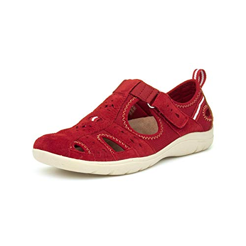 Earth Spirit Cleveland - Casual Schuhe MIT Velcro ROT - 38