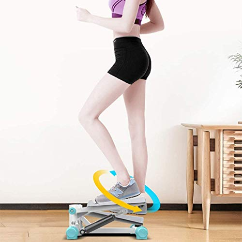 Read About XINTONGDA Aerobic Exercise Stepper, Indoor Mute Multifunctional Pedal Indoor Exercise Ste...