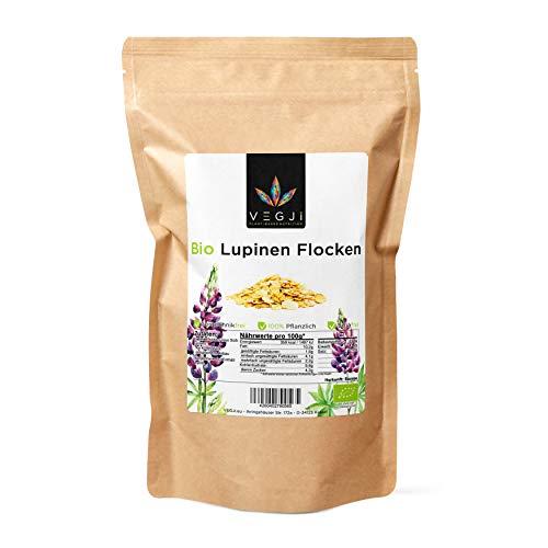 Bio Lupinen Flocken - 1000g, aus Bio-Anabau in Europa, 41% Eiweiß.