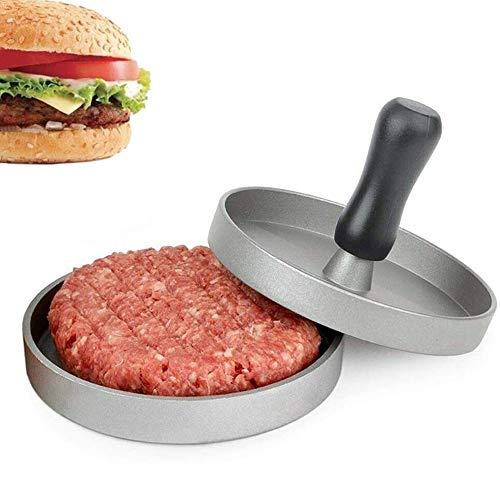 ORICH Prensa para hamburguesas, molde antiadherente para hamburguesas, hace empanadas perfectas cada vez